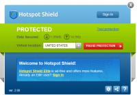 Cómo usar Hotspot Shield para navegar seguro