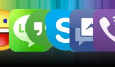 Comparativa de programas de mensajería para Windows