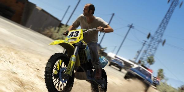 GTA 5 coches motos