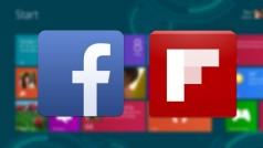 Facebook y Flipboard estarán disponibles para Windows 8.1 como apps