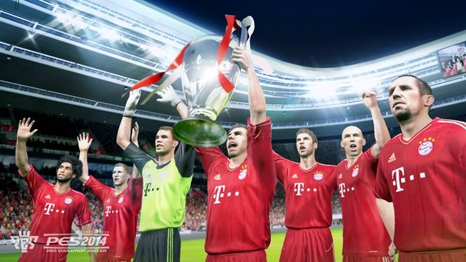 PES 2014 muestra portada provisional para PC, PS3 y Xbox 360