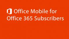 Microsoft Office llega a Android para suscriptores de Office 365