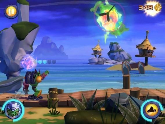 Tela de Angry Birds Transformers
