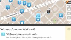 Foursquare muestra ahora los menús de los restaurantes