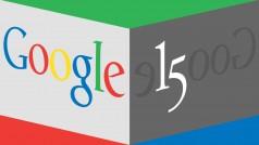 Google celebra sus 15 años de vida