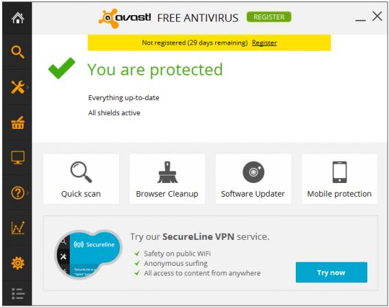 avast! 2014, une bonne alternative pour se protéger des virus et autres menaces