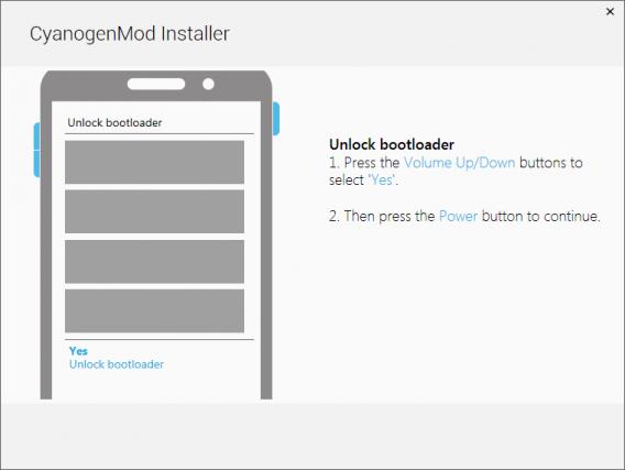 Sequência de botões permite desbloquear bootloader