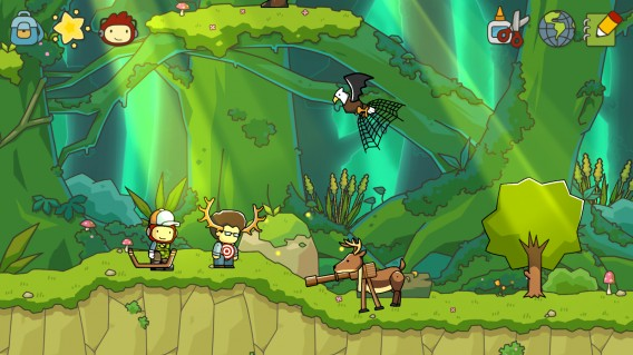 Scribblenauts Unlimited: if you can write it, you can have it