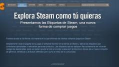 Steam añade un nuevo sistema que te permite etiquetar tus juegos