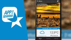 Previsión del tiempo personalizada en tumeteo, la app de la semana