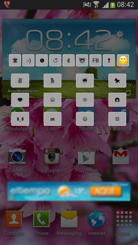 Emoticons mais usados ganham atalho no app