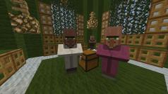 Los aldeanos de Minecraft invadieron los servidores por un día