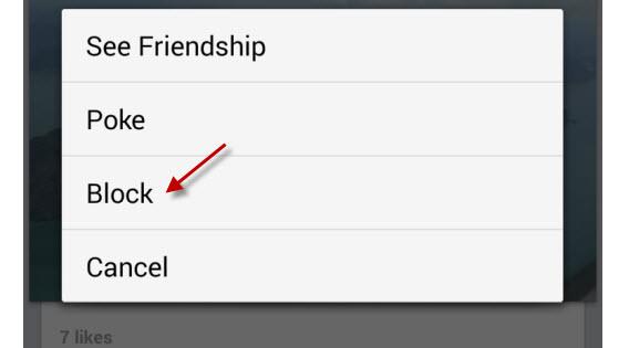 Diferente do WhatsApp, no Facebook você não continua visível para usuários bloqueados