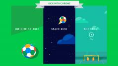 Google lanza minijuegos dedicados al Mundial: Kick with Chrome