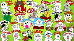Los mejores stickers de LINE en español