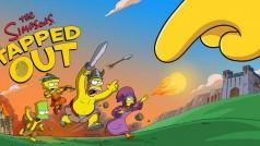 Gran duelo: juego de Los Simpson: Springfield vs Clash of Clans
