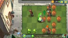 Plants vs Zombies 2 rescata un mini-juego del pasado