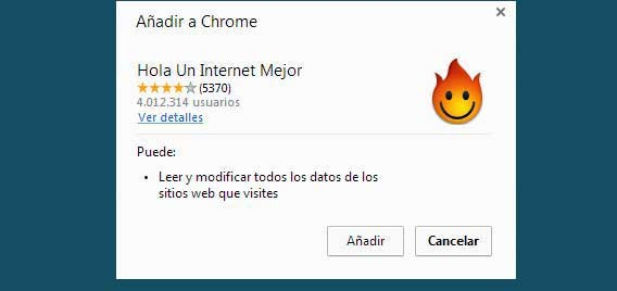 Installer Hola pour Google Chrome et Firefox