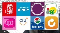 Un repaso (necesario) a las apps de los partidos políticos españoles