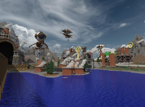 Minecraft - mapa Altaia Punk