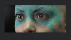 Lo que vas a ver no es una cara real: es el rostro más asombroso para un juego de PS4