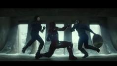 Aquí tienes el primer tráiler explosivo de Captain America: Civil War de Marvel: Vengadores vs Vengadores