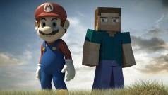 Minecraft y Mario unen sus fuerzas con esta maravilla