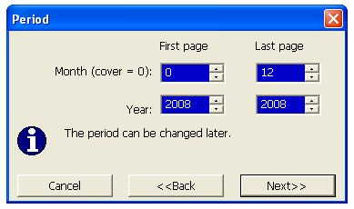 Create a personal calendar