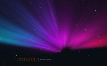 Make an aurora borealis with Pixelmator