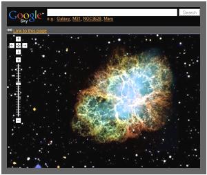 Google Sky online