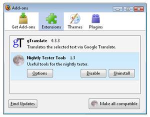 Test Firefox 3