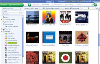 Orb audio screenshot