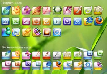 Wndows V1 icon set