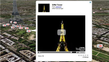 Google Earth YouTube geotag
