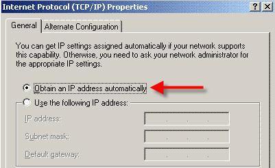 Internet Protocol screenshot