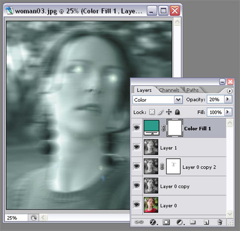 How to: turn someone into a ghost in Photoshop