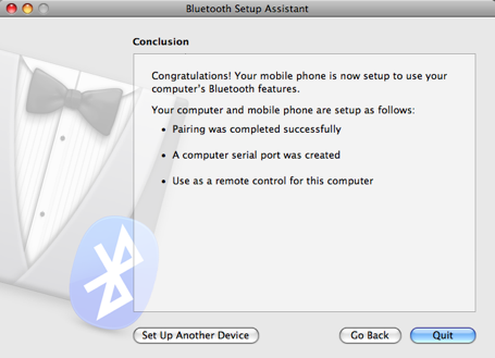 Bluetooth screenshot 2