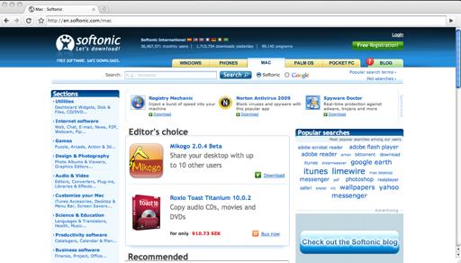 Chrome Mac screenshot 1