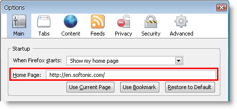Customize your browser home page