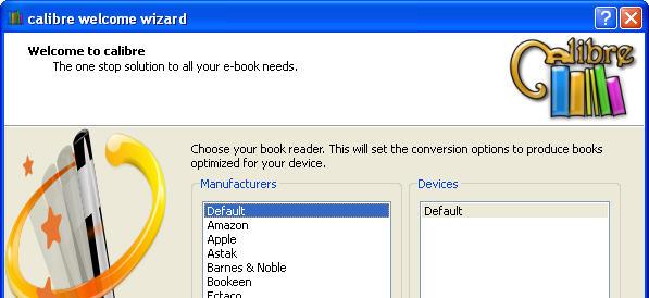 Convert ebooks to ePUB with Calibre
