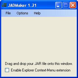 Make a JAD file