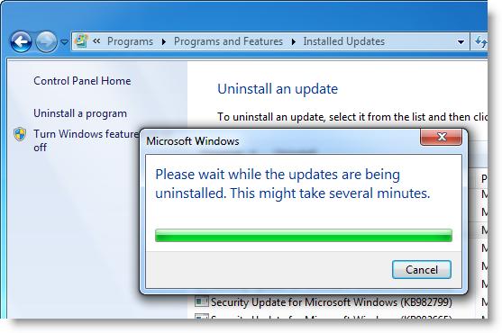 How to: Uninstall Internet Explorer 9