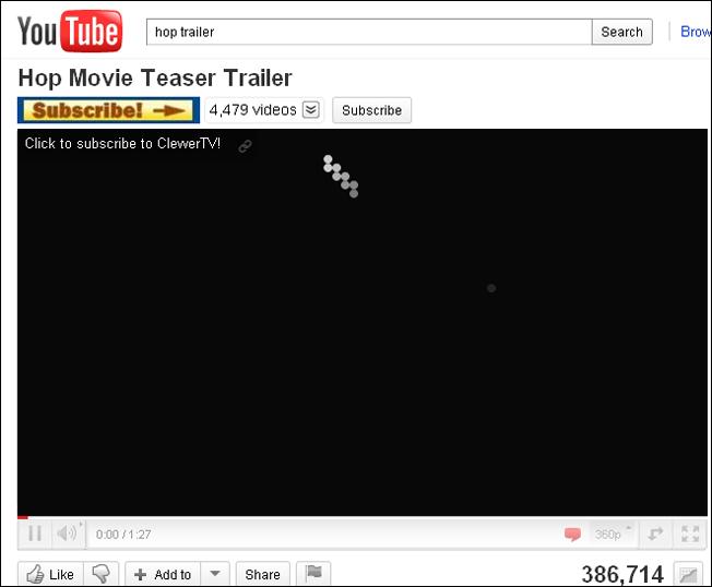 Snake on YouTube