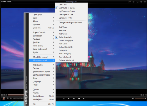 KMPlayer 3D options [small]