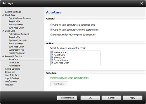 iobit advanced systemcare with antivirus autocare