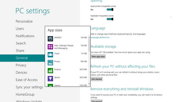 Windows 8 storage space