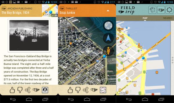 field trip maps
