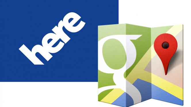 Nokia Here vs Google Maps – feature comparison