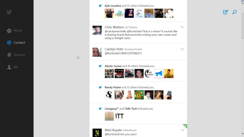 twitter 8 for windows