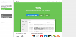 Import RSS file into Feedly with Google Reader before July 1, 2013